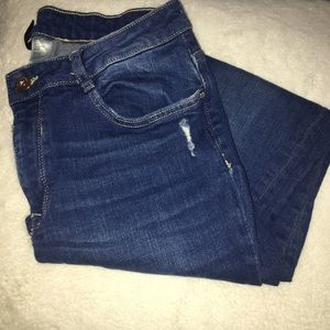 Divided Distressed Jeans size 10